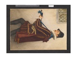 David Rizzio, 1888 Giclee Print by Sir James Dromgole Linton