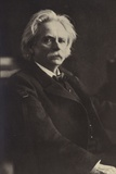 Edvard Grieg, Norwegian Composer and Pianist (1843-1907) Photographic Print