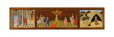 Triptych of the Crucifixion, 1436 Giclee Print by  Master of the Osservanza