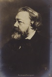 Ferdinand Freiligrath (1810-1876), German Poet Photographic Print