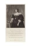 Elizabeth, Queen of Bohemia Giclee Print by Gerrit van Honthorst
