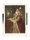 Mary, Queen of Scots, 1888 Giclee Print by Sir James Dromgole Linton