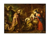 The Adoration of the Magi Giclee Print by Orazio de' Ferrari