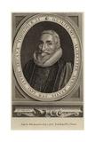 Portrait of William Alabaster Giclee Print by Cornelius Jansen