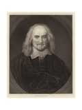 Thomas Hobbes Giclee Print by William Dobson