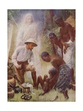 The Healer Giclee Print by Harold Copping
