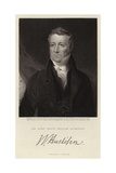 The Right Honorable William Huskisson Giclee Print by John Graham