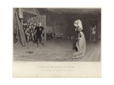 Talbot and the Countess of Auvergne Giclee Print by Sir William Quiller Orchardson