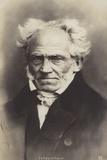 Arthur Schopenhauer (1788-1860), German Philosopher Papier Photo