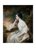 Portrait of Miss Anne Dutton, Daughter of Lord Sherborne, Mid-18th Century Giclee Print by Francis Cotes