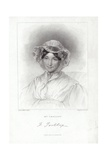 Mrs Trollope Giclee Print by Auguste Hervieu