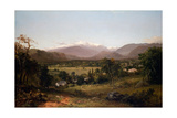 Mount Washington from the Valley of Conway, 1851 Giclee Print by John Frederick Kensett