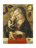 Madonna and Child, C. 1490 Giclee Print by Carlo Crivelli