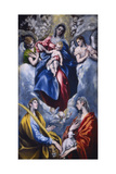 Madonna and Child with Saint Martina and Saint Agnes, 1597-1599 Giclee Print by  El Greco
