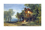 Near Wallenstadt, C.1839 Giclee Print by William James Muller