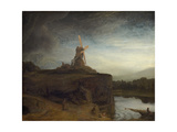 The Mill, 1645- 48 Giclee Print by  Rembrandt van Rijn