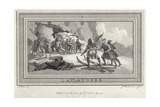 Laplanders Giclee Print by Julius Caesar Ibbetson