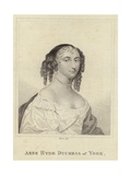 Portrait of Anne Hyde Giclee Print
