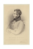 Portrait of Edward Bulwer-Lytton, Baron Lytton Giclee Print by Frederick Richard Say