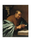 St. Luke the Evangelist Giclee Print by Jan van Bijlert or Bylert