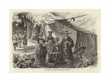 Emperor of Cochin China and His Ministers Giclee Print by Emile Theodore Therond
