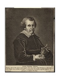 Portrait of David Teniers the Elder Giclee Print by Pieter van Mol