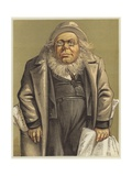 Caricature of Horace Greeley Giclee Print by Thomas Nast