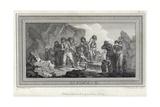 Eskimaux Giclee Print by Julius Caesar Ibbetson