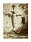 At Romsey Abbey, 1899 Giclee Print by Robert Bateman