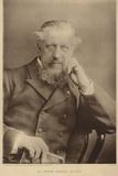 Portrait of Sir Edwin Arnold Photographic Print