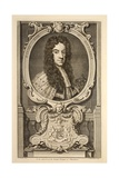 Portrait of Daniel, Earl of Nottingham, Illustration from 'Heads of Illustrious Persons of Great… Giclee Print by Jacobus Houbraken