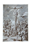 Crucifixion, Late 16th-Early 17th Century Giclee Print by Johann or Hans von Aachen
