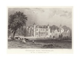 Underlay Hall in Westmoreland Giclee Print by Thomas Allom