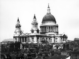 St Paul's Cathedral, C.1880 Photographic Print by Francis G. O. Stuart