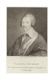 Portrait of Cardinal Richelieu Giclee Print by Philippe De Champaigne