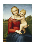 The Small Cowper Madonna, C.1505 Giclee Print by  Raphael