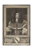 Lord Chief Justice Holt Giclee Print by Richard van Bleeck