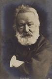 Victor Hugo (1802-1885), French Poet, Novelist and Dramatist Photographic Print