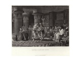 Pastime in Ancient Egypt Giclee Print by Sir Lawrence Alma-Tadema