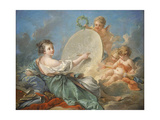 Allegory of Painting, 1765 Giclee Print by Francois Boucher