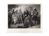 Spaniards and Peruvians Giclee Print by Henry Perronet Briggs