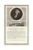 Portrait of Marie-Jean Herault De Sechelles Giclee Print by Jean Duplessi-Bertaux