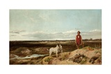 Ferreting, 1863 Giclee Print by Richard Ansdell