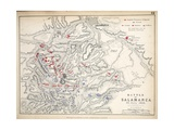 Map of the Battle of Salamanca, Published by William Blackwood and Sons, Edinburgh and London, 1848 Giclee Print by Alexander Keith Johnston