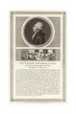 Portrait of Jean-Baptiste Du Val-De-Grace, Baron De Cloots Giclee Print by Jean Duplessi-Bertaux