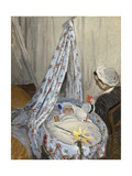 The Cradle, Camille with the Artist's Son Jean, 1867 Giclee Print by Claude Monet