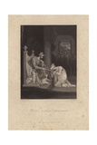 Esther before Ahasuerus Giclee Print by Richard Westall