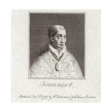 Portrait of Pope John Viii Giclee Print