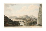 The Bridge over the River Gallions, from the Foot of Fort Matilda, Guadaloupe, Illustration from… Giclee Print by Cooper Willyams