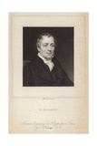 Portrait of David Ricardo Giclee Print by Thomas Phillips
